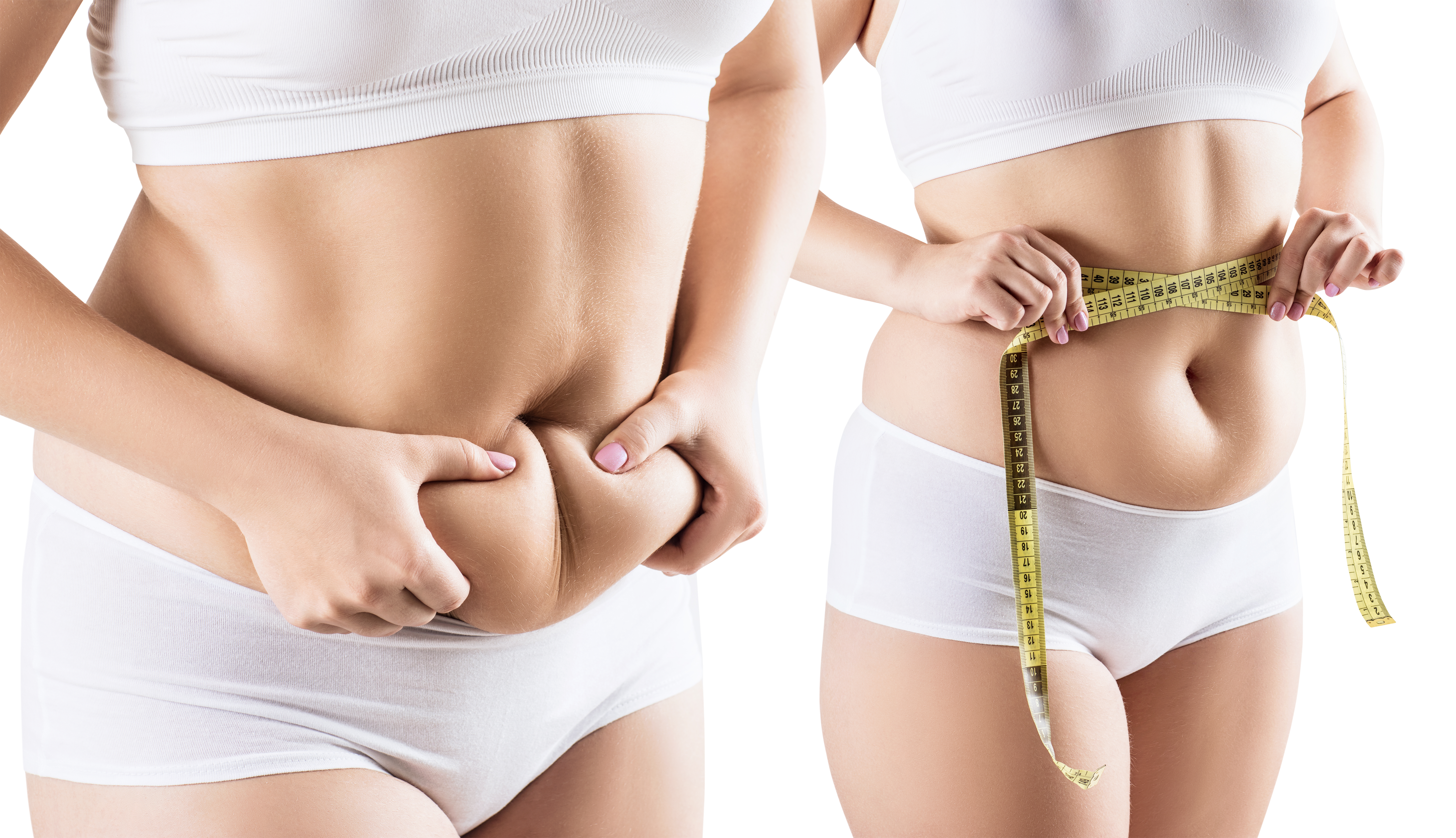 The easiest three procedures to get rid of tummy fat without pain